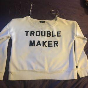 "Rock & Republic 🎸 ""Trouble Maker"" sweat shirt"